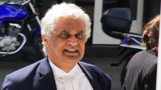 Face à un sentiment d'injustice :Valayden écrit au DPP pour qu'il fasse appeldu verdict dans l'affaire Toofany