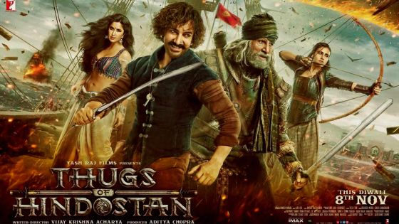 Thugs Of Hindostan : un film de dimension épique