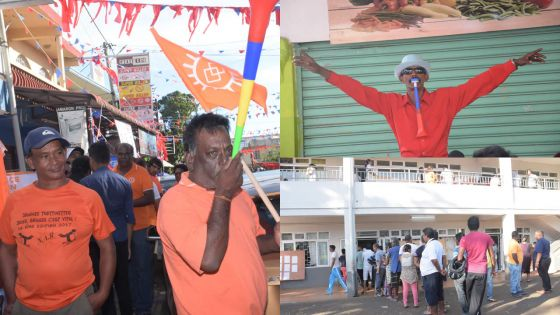 Constituency - No. 5 : quiet day despite minor incidents