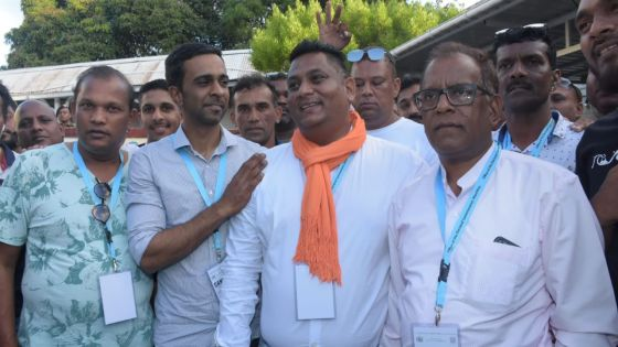 Deuxième pointage dans la circonscription no 10 : Vikram Hurdoyal en tête après 11 000 bulletins dépouillés