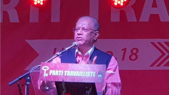 Congrès du Parti travailliste à Quatre-Bornes : Ramgoolam promet d'instituerdes commissions d'enquête