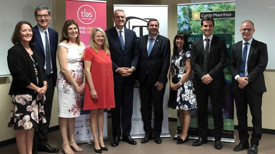 Éducation : le Charles Telfair Campus et Curtin Mauritius annoncent un partenariat avec la Toulouse Business School