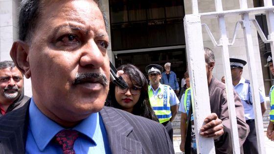 Accusation rayée dans l'affaire Roches-Noires : voici la réaction de Dev Jokhoo, ancien patron du NSS
