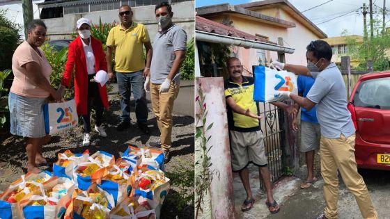 Courts Mammouth : 400 packs de nourriture livrés aux plus vulnérables à travers des ONG