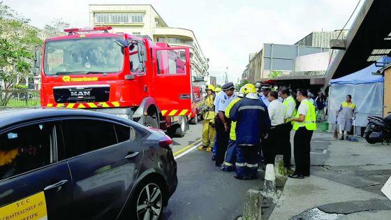 Simulation d'incendie : So'Flo et le marché de Curepipe concernés