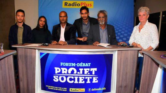 Forum débat 'Projet de société'