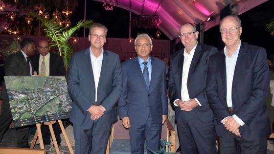Lancement de la Smart City de Beau-Plan : le PM invite les étrangers à investir davantage à Maurice