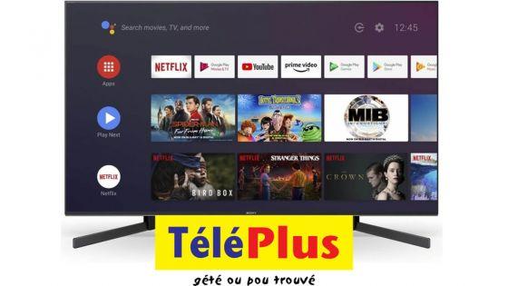 Télévision sur internet :visionnez TéléPlussur votre téléviseur