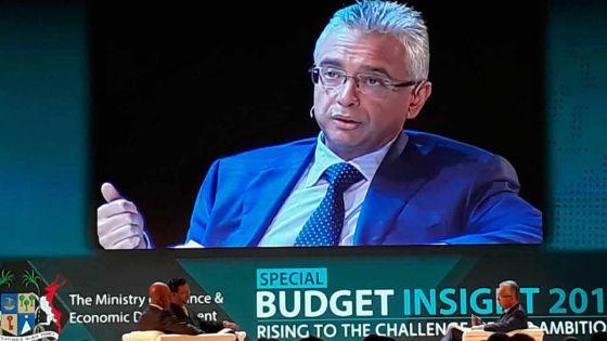 Pravind Jugnauth explique son Budget 2017-18