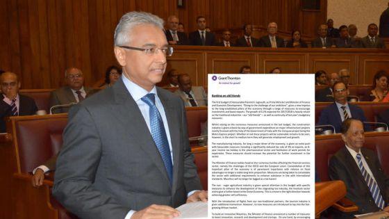 [Document] Budget 2017-18 : analyse de Grant Thornton
