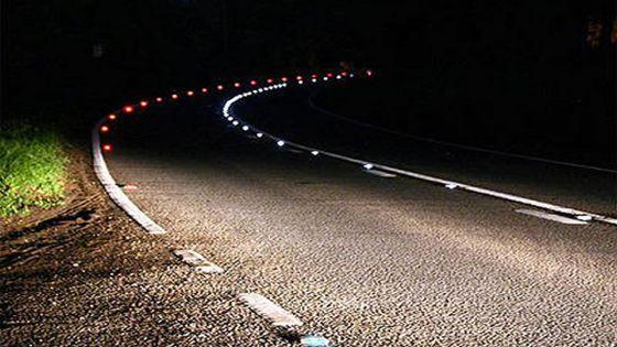 Sécurité routière : des cat's eyes, alimentés en énergie solaire, sur les routes