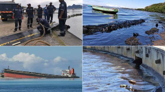 Marée noire : les lagons du Sud-est défigurés