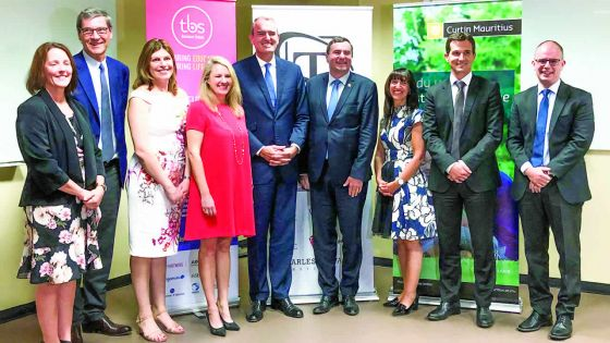 Éducation : le Charles Telfair Campus et Curtin Mauritius annoncent un partenariatavec la Toulouse Business School