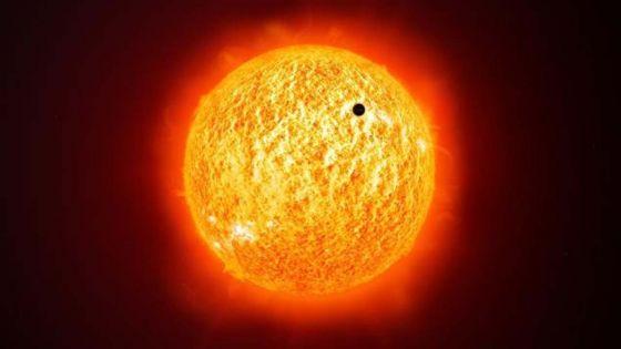 Phénomène rare dans le ciel mauricien : la planète Mercure passe cet après-midi devant le Soleil