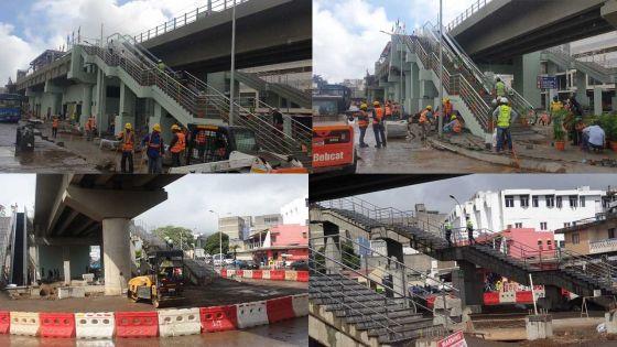 [En images] «Soft launch» du Metro Express : Dernières retouches avant l'inauguration officielle cet après-midi