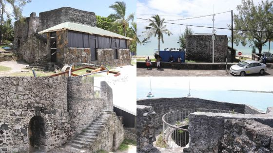 Trou-d'Eau-Douce : dans les ruines du four à chaux