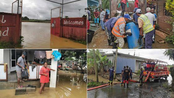 Après de fortes pluies -Bramsthan : la désolation