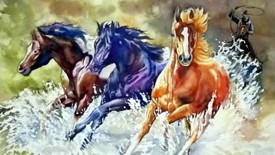 L'Atelier Art pour Tous expose 'Le cheval dans la vie de l'homme'