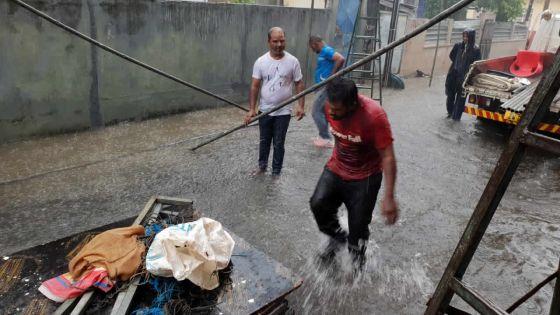Pluies torrentielles : l'angoisse submerge plusieurs familles