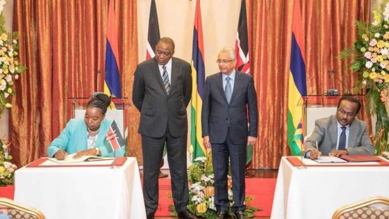 Kenya-Mauritius double : taxation avoidance deal, a deep hole in revenue basket