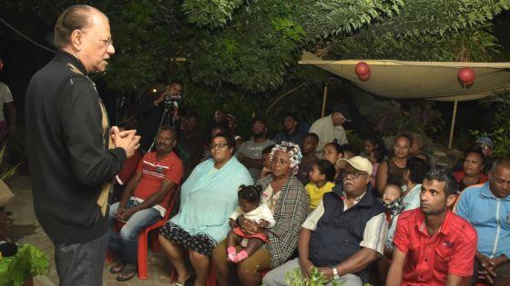 Navin Ramgoolam : «Kifer ou lanss defi enn dimoun ki pena sirkonskripsyon »