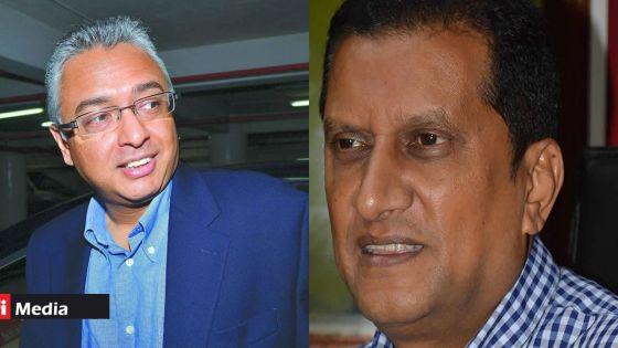 Législatives 2019 : Sangeet Fowdar a rencontré Pravind Jugnauth au PMO