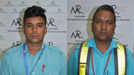 Saisie de 43 millions d'héroïne à l'aéroport : deux bagagistes au coeurdu réseau épinglés