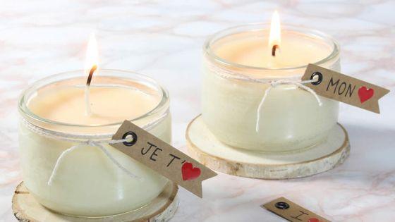 Offrez une bougiede massage DIYpour la Saint-Valentin