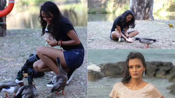 Miss Eco International Mauritius 2020 : Hateefa Low Kom pour l'amour des animaux