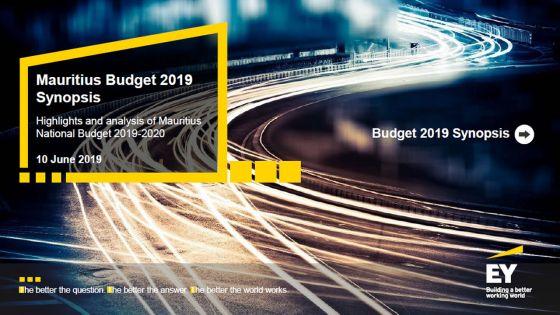 Budget 2019-2020 : découvrez l'analyse d'Ernst & Young Mauritius