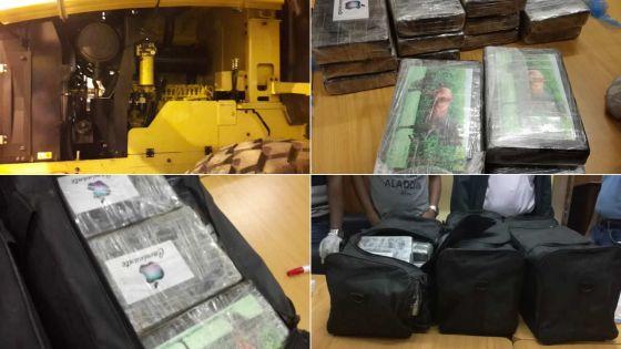 Saisie record de cocaïne à Pailles : les colis étaient-ils destinés au marché mauricien ?