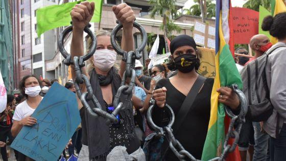 Manif à Port-Louis : la défense des libertés au cœur de la marche