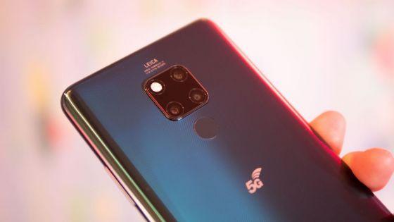 Mate 20x 5G, le premier smartphone 5G de Huawei