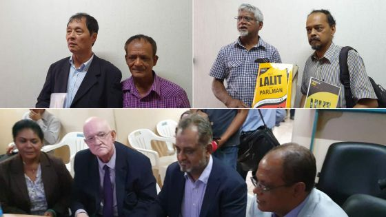 À l'Electoral Supervisory Commission :36 partis et une alliance enregistrés en deux jours