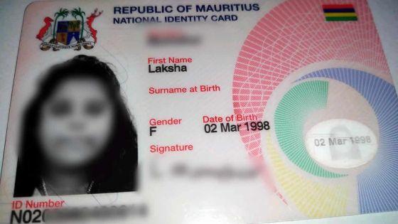 Erreur sur la carte d'identité de sa fille