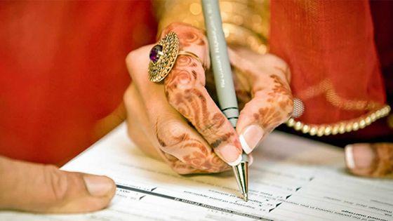 Enregistrement du mariage 'nikaah' : àquand une loi adéquate ?