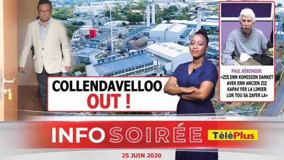 [Info Soirée] : Ivan Collendavelloo: «Mo ti atan ki ena eleman pli serye»