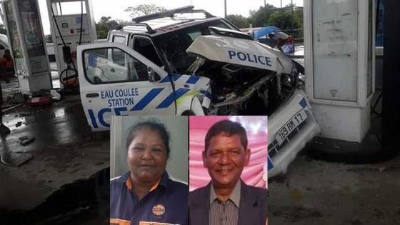 Simla Ramkissoon, collègue des pompistes percutés : «J'ai dit aux deux policiers d'appeler une ambulance»