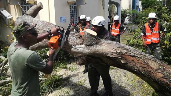 Cyclone tropical Joaninha : des pompiers et des officiers de la SMF déjà sur le terrain pour intervenir