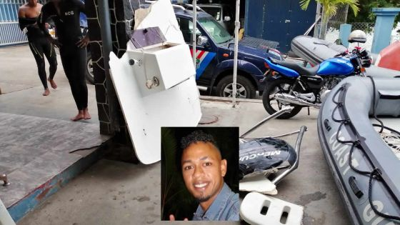 Disparition en mer de Warren Wong : les débris du speed boat retrouvés