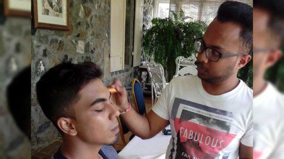 Akshay Goteea, make-up artist : avec sa passion dévorante, il souhaite changer le regard des femmes