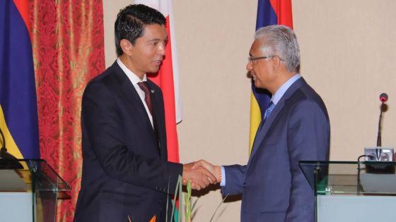 Banquet d'Etat : Maurice et Madagascar se prennent par la main