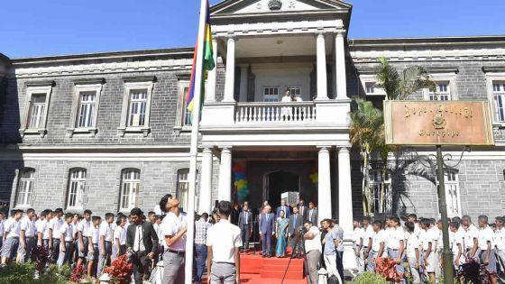 Le PM au collège Royal de Curepipe : «La discipline et l'inclusion sont des piliers de notre réussite»