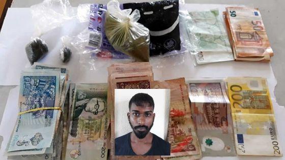 Opération coup de poing de l'Adsu de la Western division :Rs 1,5 M de drogue et 2 350 euros saisis chez un apprenti religieux