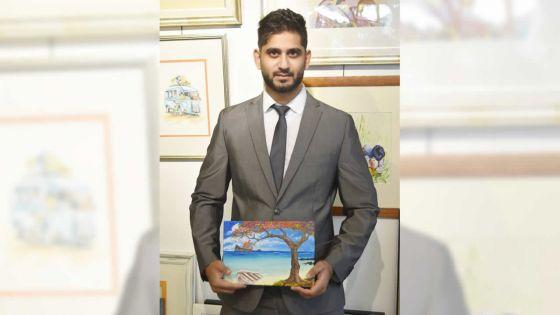 Saleem Rajaballee, teacher and amateur artist :building a careerout of own interests