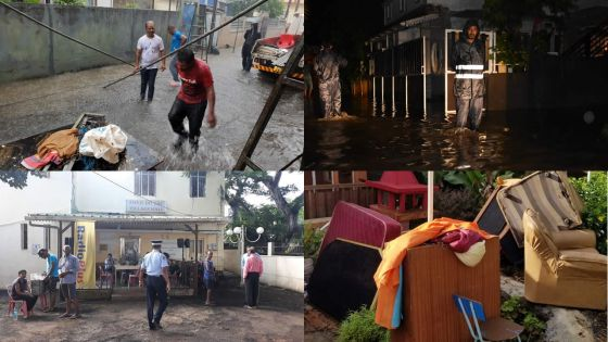 Torrential rain : horrendous experiences of flooded places