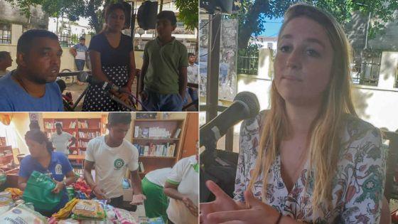 Radio Plus au cœur de la solidarité nationale : 50 matelas, 350 kg de farine, plein de vivres reçus
