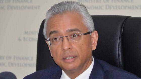 Aide financière indienne : Pravind Jugnauth explique l'utilisation des Rs 12,7 Md