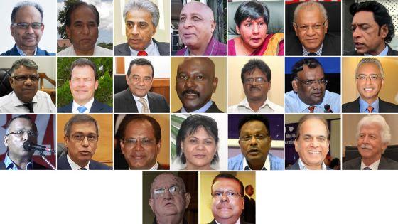 Élections générales : palmarès des candidatures