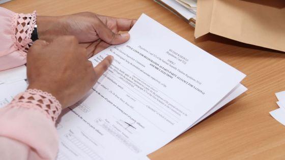 En marge des élections générales du 7 novembre : 71 partis politiques, y compris des alliances, enregistrés